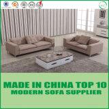 Conjunto de madera del sofá de la tela del ocio del hotel de los muebles modernos de la sala de estar