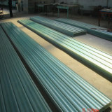 Strato ondulato Strato-Semi-Trasparente del tetto del lucernario dello strato del comitato della vetroresina FRP