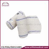 Fasciatura elastica del Crepe del cotone medico del pronto soccorso