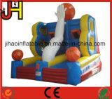 옥외 재미있은 스포츠 게임 팽창식 농구 링