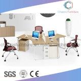 Disegno di progetto L stazione di lavoro dell'ufficio della mobilia della melammina di figura