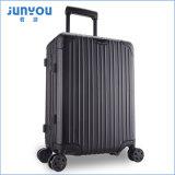 Junyou Koffer-Gepäck der neuen Feld-Arbeitswegduffle-Laufkatze-Freizeit-Aluminium 20 24 Zoll-Frauen