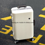 Alumínio ABS Trolley Case Customs Combination Lock Travel Luggage Suitcase