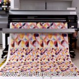 papel de transferência seco rápido do Sublimation 30/45/55/70/80/100/120GSM para a tela do Sublimation