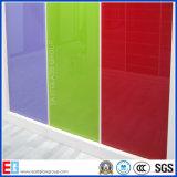 Glasfabrik-Weiß/Milch weiß/Schwarzes/Grau/Kaffee/Blaues/Rotes/Rosa/Bronzen-/Orangecustom Zweischichtenlack-Glas (angestrichenes Glas)