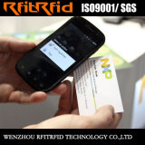 13.56MHz passive Pritable NFC Papierkarte für Geschäft