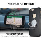 para el caso más del iPhone 7, caja magnética rotatoria del teléfono del sostenedor del montaje del coche para el iPhone 7 más