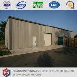 Construction préfabriquée d'entrepôt de bâti en acier
