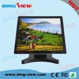 """"""" pantalla de monitor comercial del tacto de la posición de Pcap del diseño plano verdadero 17"""