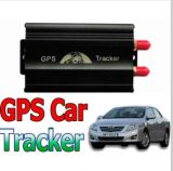L'inseguitore doppio Tk103A di GPS dell'automobile della scheda di SIM più la serratura/sblocca a distanza il portello