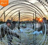 Seguridad Protegida Concertina Razor púas alambre de cinta (TCC-65)
