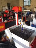 Grabador del CNC de la puerta del arte de madera del cilindro mini