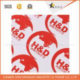 Sticker van de Druk van het Etiket van de Douane van het Document van het overdrukplaatje de Transparante Vinyl Epoxy Zelfklevende