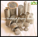 ステンレス鋼の金網のこし器かフィルターシリンダー
