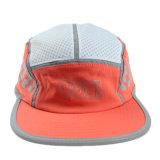 Orange 5 Panel Camper Cap Summer Supreme Hat