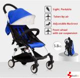 Form, faltbarer heißer Verkaufs-Aluminiumrahmen-Baby-Spaziergänger/Baby-Buggy