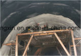 Membrana impermeable del HDPE negro o blanco para el túnel/Aquafarm/el terraplén/la presa