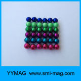 De Magneten van het Gebied van het neodymium hopen Magnetische Bal van de Kubus van 5mm de Neo op