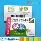 Kundenspezifisches Drucken-Plastikkarte für transparente Mitgliedschaft