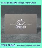 Cartão envernizado UV do PVC do ponto com a listra magnética para a lealdade