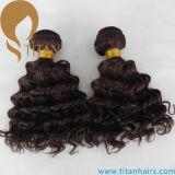 Trama brasileira reta Kinky do cabelo do Virgin dos produtos novos