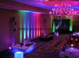 9W LED Wand-Wäsche-Lampen-Unterlegscheibe-Flut-Licht-im Freienlandschaftsbeleuchtung R G B Y RGB