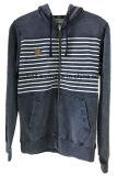 テリーを持つ人のための100%年の綿の糸の染料のジーンHoodyのジャケット
