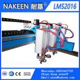 山東中国の4m*6m/10m/12m/20mのガントリーCNC Flame&Plasmaの金属のカッター機械