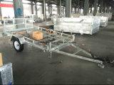 Горячий окунутый гальванизированный трейлер ATV с пандусом