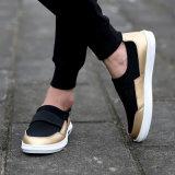 Heiße verkaufenform-Turnschuh-Freizeit bereift Komfort-Schuh-beiläufige Schuhe