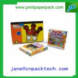 Напечатанная таможней коробка милого Paintbrush Crayon упаковки пер упаковывая