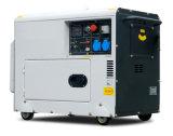 세륨에 의하여 승인되는 공기에 의하여 냉각되는 5kVA 작은 침묵하는 디젤 엔진 발전기