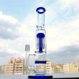 Tubo di acqua di vetro dei 8 Braccio-Alberi di Gldg del favo variopinto di Perc con la tacca del ghiaccio