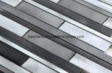 La pared de aluminio del metal embaldosa el mosaico