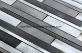 De Tegels Aalrrs1002 van de Muur van de Badkamers van Backsplash van de Keuken van de Decoratie van de Tegels van Matel van de Tegels van het Mozaïek van het aluminium