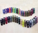 La correa de reloj de nylon respetuosa del medio ambiente Yxl-455, venda de reloj de señoras de la manera ata con correa la fábrica al por mayor del OEM de la correa de reloj de la OTAN