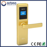 Orbita Hot Selling Golden Smart Electronic RF Keyless Card Hôtel Porte Verrou E4131