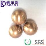銅の金の錫亜鉛はベアリング鋼球のめっきされた鋼球に塗った