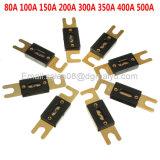 Gold überzogener Auto AudioAfs Anl Sicherung-Selbststift fixiert 32V 30A 40A 50A 80A 80A