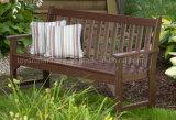 전통적인 미국식 포도원 옥외 정원 Polywood 나무로 되는 3 Seater 공원 벤치 (P232)