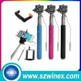 2016 Getelegrafeerde Kabel van de Stok Selfie van de Rots de Mini Verlengbare Universele Monopod voor Se van iPhone 6s 5s voor de Androïde Telefoons van de Rand van Samsung S6 S7