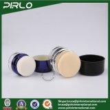 l'estetica di plastica del vaso della polvere di nuovo disegno di lusso di 10g 20g arrossisce vaso dell'imballaggio con il vaso vuoto di trucco del soffio di polvere
