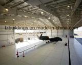 Большой ангар самолета рамки стальной структуры