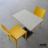 Таблица домашней мебели искусственная мраморный верхняя обедая
