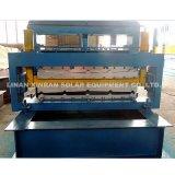 De metal Azulejo Techo Panel Máquina formadora de rollos