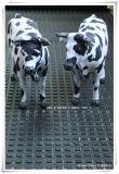 Stuoia della mucca, passante a bestiame di controllo dell'Ue piccola stuoia di gomma quadrata