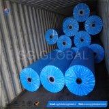 100GSM imperméable à l'eau en PVC avec garniture en bâche en rouleau