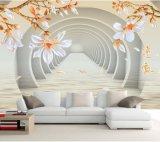 Diseño personalizado autoadhesivo extraíble hermosa decoración del hogar Fondos de pantalla interiores