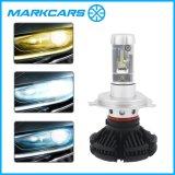 Markcars X3 H4 H7 H11 6000lm 자동 헤드라이트 램프