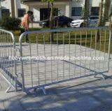 Barrières galvanisées à chaud de contrôle de foule